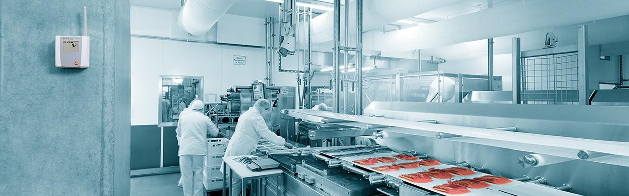 Saveris 1 ve výrobě potravin