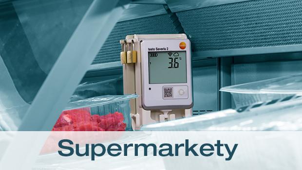 Saveris 2 v supermarketech
